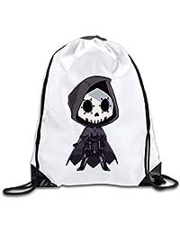 LoveBiuBiu Custom s Sombra Video Game Sport Backpack Drawstring Print Bag