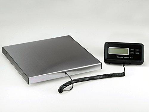Plattformwaage Paketwaage Tischwaage 120kg 0,05 Edelstahl Profi Qualität 30x30