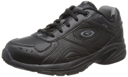 Hi-Tec Unisex XT115 Junior Fitness Shoes - Black (Black/Charcoal 021), 4 UK (37 EU)