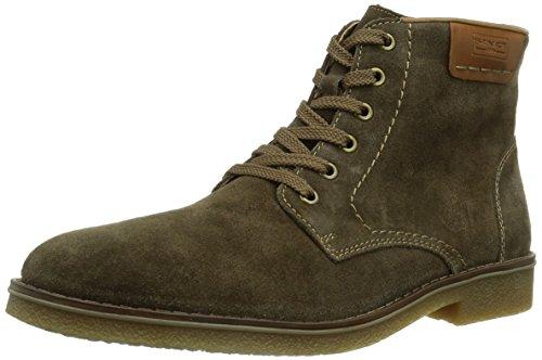 Rieker Schuhe Herren Stiefeletten Schnür Boots Lammwolle 33811 Braun