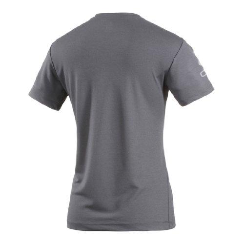 Odlo 200881 T-Shirt ras de cou à manches courtes pour homme Logo Line Gris - Gris
