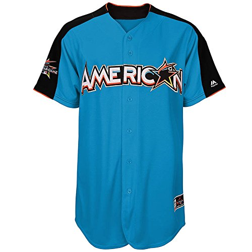 Official Majestic MLB American League Home Run Derby Mens Jersey (Illinois Home Jersey)