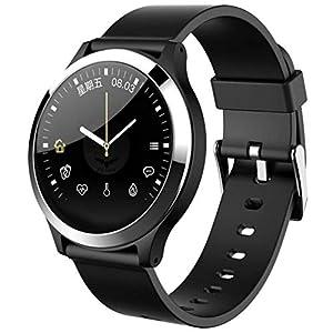 B67 Unisex Smartwatch Android iOS Bluetooth Sport Wasserdicht Herzfrequenz Monitor Blutdruckmessung Touch Screen Schrittzähler Anruf Erinnerung Activity Tracker Schlaf-Tracker sitzend