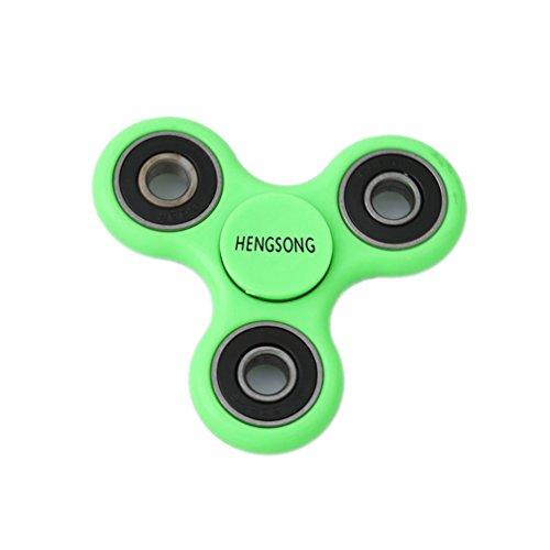 (HENGSONG Fidget Toys Hand Spinner Finger Spielzeug für Kinder und Erwachsene Spielzeug Geschenke (Grün))