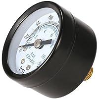 Vvciic 1/8 pulgadas 160Psi 0-10bar Manómetro de aire
