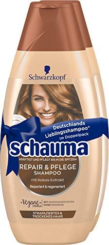 Schwarzkopf Schauma Shampoo 2er Repair & Pflege, 1er Pack (1 x 800 ml)