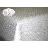 lemoinscherdeladeco sous Nappe - Protection de Table Blanc – Largeur 140cm (050 cm)