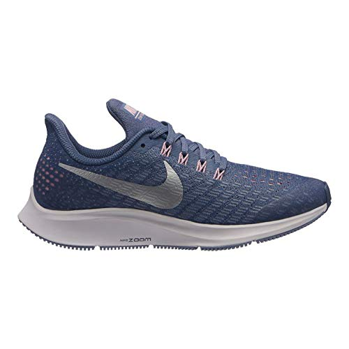 Nike Damen Air Zoom Pegasus 35 (gs) Laufschuhe, Mehrfarbig (Diffused Blue/Metallic Silver 400), 37.5 EU (Nike Schuhe Air Pegasus Damen)