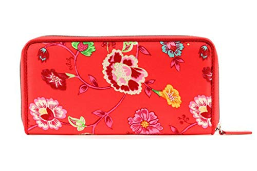 Oilily Classic Ivy Travel Wallet Tangerine