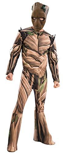 Erwachsene The Kostüm Für Avengers - Avengers Groot-Lizenzkostüm für Erwachsene braun-grün M / L