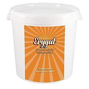 Erygut Basic | Kalorienfreier Zuckerersatz aus Erythrit | Süßungsmittel für Low Carb und Ketogene Diät | zum Süßen von Speisen & Getränken, Kochen und Backen | Foodtastic Erythritol Light