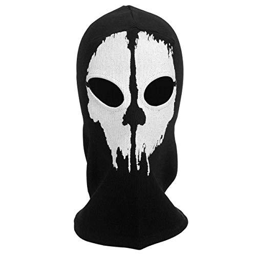 Call OF DUTY GHOST Maschera 1 Taglia Balaclava Halloween Maschera Da Motociclista Cappuccio