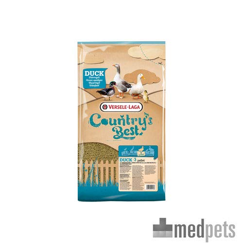 versele-laga Country S Best Duck pellet di 3 - 20 kg