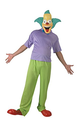 Rubie 's Offizielles Classic Krusty der Clown Simpsons -
