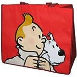 """Tim und Struppi - Einkaufstasche Shopping Bag, Motiv """"Red Design"""""""
