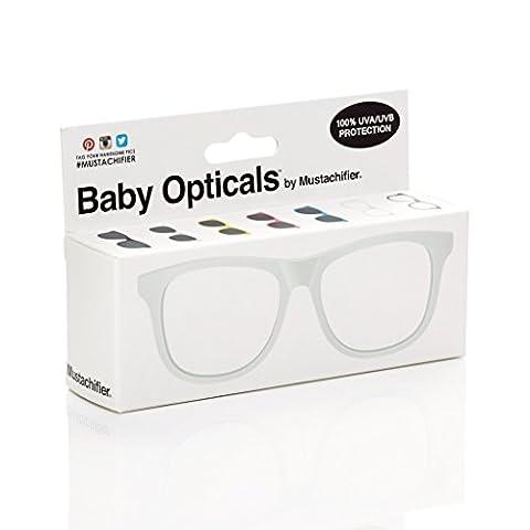 FCTRY - Lunettes de soleil - Bébé (garçon) 0 à 24 mois blanc Cadre blanc Ages 0-2