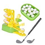 Novelty Golf Gift, Automatic Golf Tee Machine, Junior Golfer Trainer Practice Toy, Kids