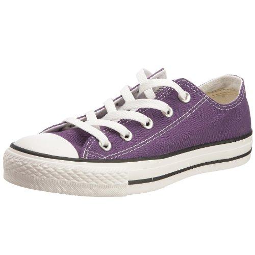 CONVERSE Chuck Taylor All Star Seasonal Ox, Unisex-Erwachsene Sneakers, Violett (Violett), 44 EU (Schuhe Lila Converse)