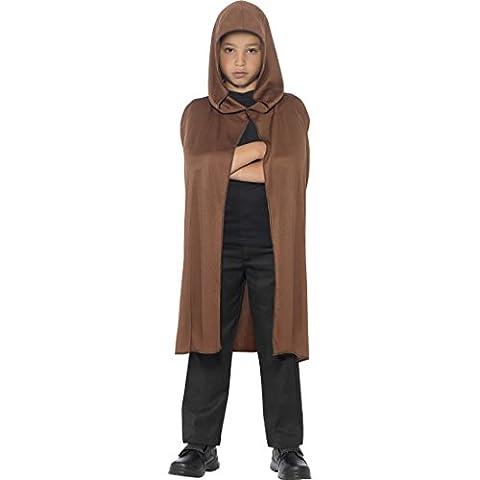 Costumes Jedi Halloween - Cape de Jedi pour enfant brun Manteau