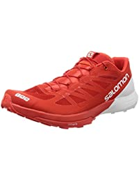 Salomon Lab Sense 6, Chaussures de Trail Mixte Adulte, Rouge, 4 UK