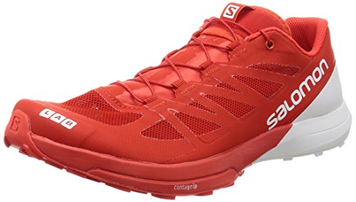 Salomon S-Lab Sense 6 Racing Red White White 41