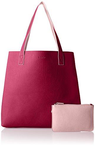 Boscha - Bo-1080-ma, Borsa a spalla Donna Rosa (Pink)