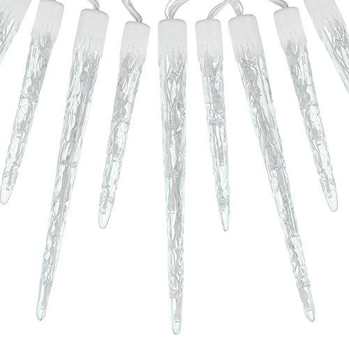 Eiszapfen-lichterkette (Frank Flechtwaren LED-Lichterkette Eiszapfen)