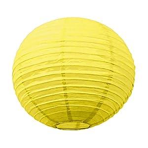 Tim & Puce 5026S - Farolillos japoneses (15 cm), Color Amarillo