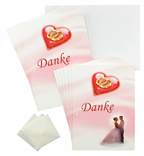 dankeskarten-hochzeit-rosa-rot-weiss-im-set-erst-hochzeit-feiern-und-danach-danke-sagen-12-x-dankeka