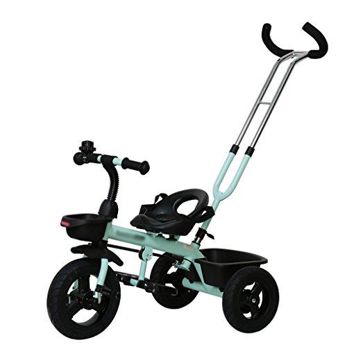 Bici per bambini Trike Bike 3 ruote per bici 2-5 anni (Color : Light green)