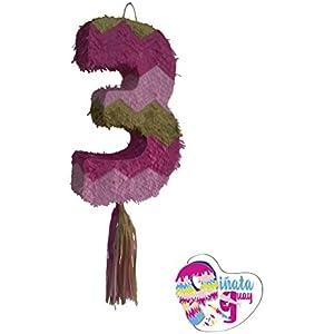 Pinata No. 3. Piñata Nummer. Pin