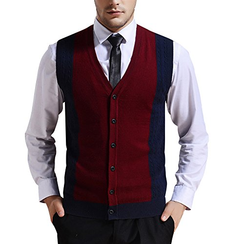 zicac-mens-spring-winter-v-neck-assorted-color-gilet-sleeveless-vest-classic-style-business-gentlema