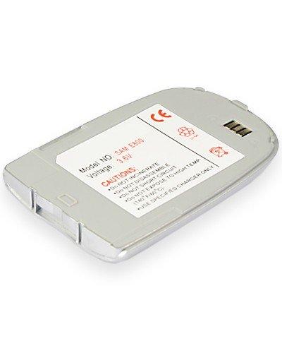 cellePhone Akku Li-Ion für Samsung SGH-E800 / E820 - silber ( ersetzt BSTE800E / BST2927SE / BST2927VE )