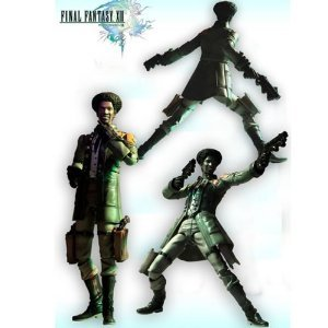 Figurine Final Fantasy XIII Play Arts Kai Action Figure série 1 figurine Sazh Katzroy n°4