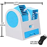 Shoppozone Mini Air Conditioner Cooling Fan (Multi-coloured)