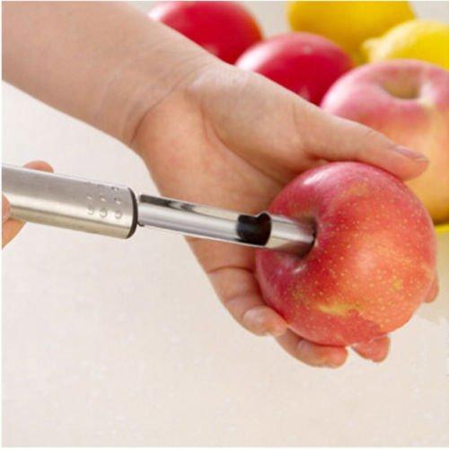 Generic yanhonguk150730-13331yh3363yh Werkzeug Küchenutensilien Entferner Pear Uit Cutter Edelstahl Apfelentkerner Fruit Cutter R Core RE Edelstahl Core Aal Apple Küchenutensilien Pear Cutter