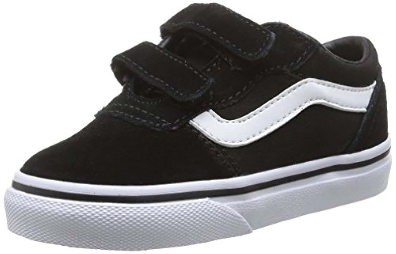 Vans Unisex Kids' MILTON V Low-Top Trainer Black Size: 4.5
