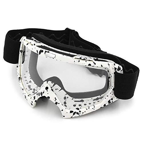Festnight Outdoor Motocross Brille Staubdicht Winddicht Radfahren Motorrad Helm Brille für Männer Frauen