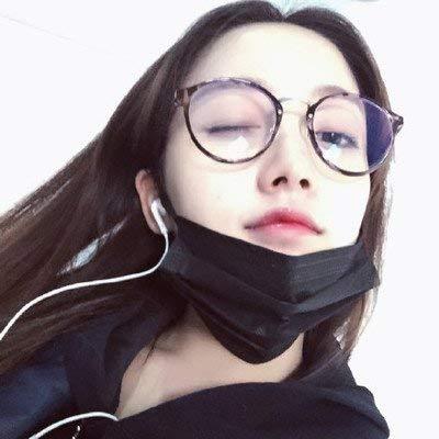 Stil von Korea 100 Mode kann zusammen mit Einer weiblichen anastigmatischen Brille Flut Geisteswissenschaften Geschicklichkeit Brille für Near Sight Frame weiblichen Stil zusammen gehen