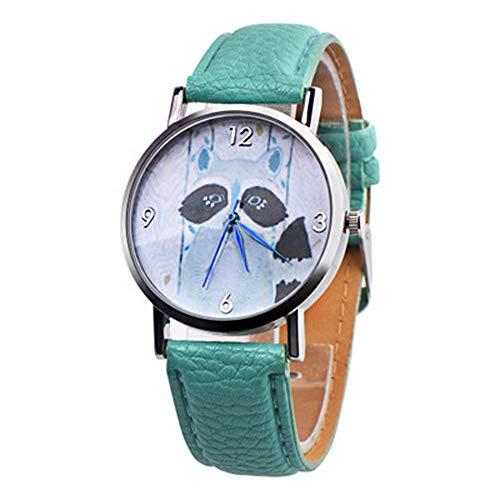 Rosepoem Armbanduhr quarzuhr Mode lässig runde Hund Uhr Armbanduhr