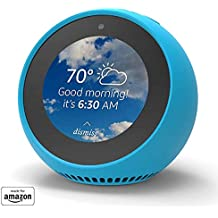 Mission Funda de Silicona para Echo Spot, Azul