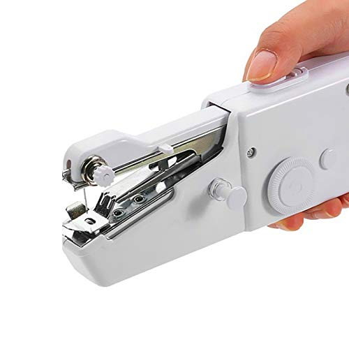INGLIS LADY Plastic Handheld Mini Portable Electric Sewing Machine Stitch...
