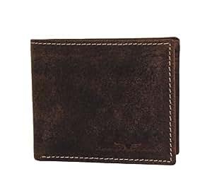 Urban Forest Men'S Wallet (Dark Brown) (485-Blue)