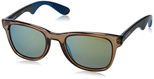 Carrera 6000/r 3u 4op occhiali da sole, grigio (mud grey/khaki mirror bluee), 51 unisex-adulto