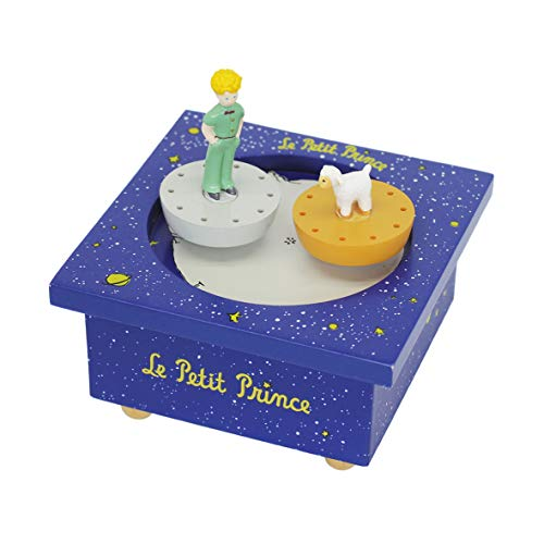 TROUSSELIER - Boîte à Musique Dancing - Le Petit Prince - 2 Figurines Amovibles - Petite Musique...