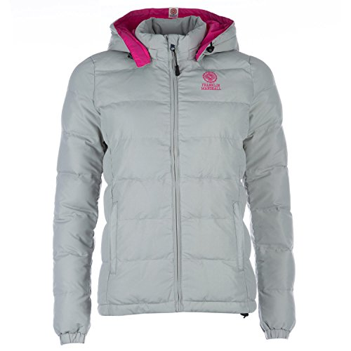 Womens-Franklin-And-Marshall-Jacket-In-Grey-Marl