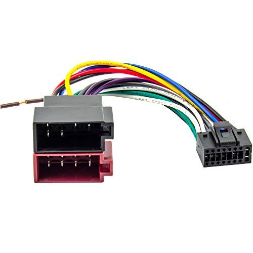 Watermark WM-0201 Kenwood DIN ISO Autoradio Adapter Kabel Stecker KDC DPX KMD KRC usw