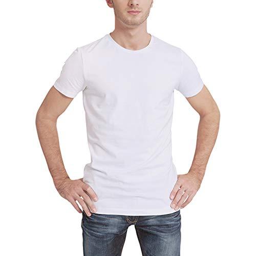 JiaMeng Unisex Imprimió Camisetas Personalidad de la Moda de impresión O-Cuello de Manga Corta Camiseta Top de Colores Personalizada Casual tee Shirt