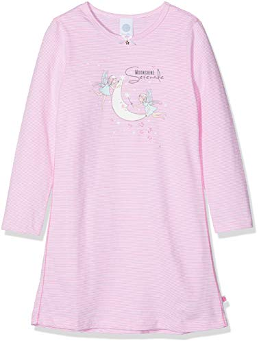 Sanetta Mädchen Nachthemd Sleepshirt, Pink (Carmine Rose 3929.0), 128