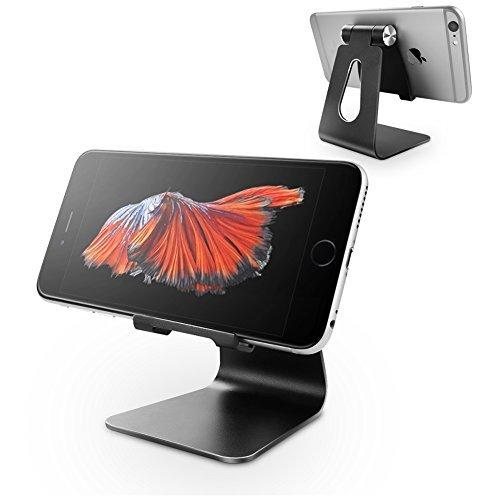 Support Téléphone, aLLreLi Support Dock pour iPhone X 8 7 6 6s plus 5 5s 4s, HUAWEI, Samsung S3 S4 S5 S6 S7 S8 et d'Autres Smartphones